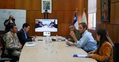 Subsecretario Arturo Zúñiga constató en Ñuble el avance del plan de reforzamiento de la red asistencial ante la pandemia del Covid 19