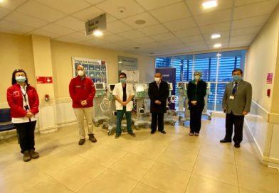 Diez ventiladores mecánicos se suman a la red asistencial de Ñuble