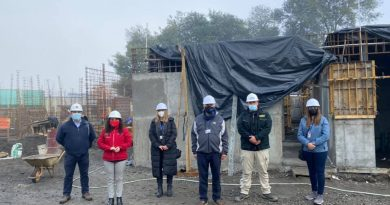 Avanza construcción de nuevo edificio    del SML de Chillán